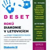 Deset roků Diakonie