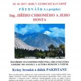 Přednáška Ing. Jiřího Chromého - Krásy brouků a dálek Pakistanu