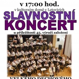 Slavnostní koncert VDO ZUŠ Letovice
