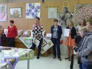 Výstava patchworku - vernisáž