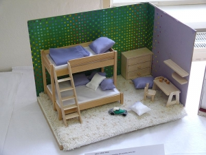 Modely bytových interiérů