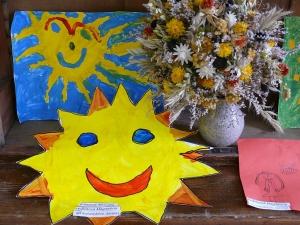 Velikonoční výstava - práce dětí z MŠ Letovice