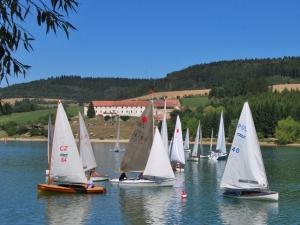 Jachting, přehrada Křetínka