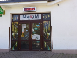 Maxim bar, Letovice