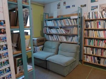Knihovna Třebětín - interiér