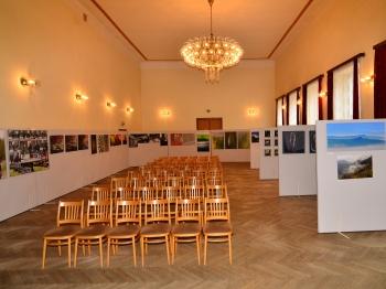 Horní sál s výstavou