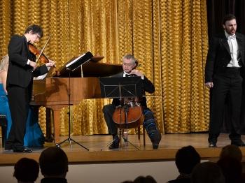 Novoroční koncert s Moravským klavírním triem 2015