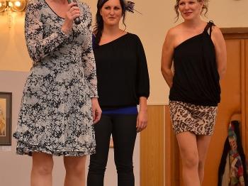 Dámský klub 2015 - Šárka Trubáková, Alena Kopecká a Martina Kulhavá