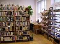 Knihovna Letovice - oddělení pro dospělé v budově MŠ Čapkova
