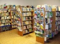 Knihovna Letovice - oddělení pro děti a mládež v budově ZUŠ