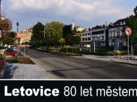 Letovice 80 let městem