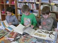 Poprvé do knihovny - návštěva dětí v knihovně