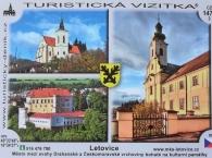 Turistická vizitka Letovice (nově v prodeji) č. 1473
