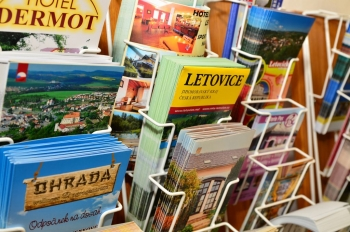 Nabídka TIC - knihy, mapy, letáky